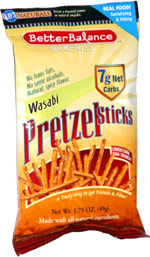 Kay's Naturals Better Balance Bakeries Wasabi Pretzel Sticks