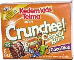 Kedem Kids Telma Crunchee! Cereal Bars Coco Rice