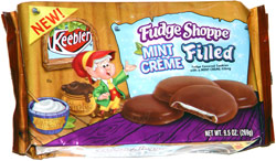 Keebler Fudge Shoppe Mint Creme Filled