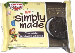 Keebler Simply Made Chocolate Sandwich Cookies