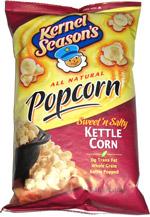 Kernel Season's All Natural Popcorn Sweet 'n Salty Kettle Corn