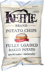 Kettle Chips Fully Loaded Baked Potato
