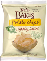 Kettle Bakes Potato Chips Lightly Salted