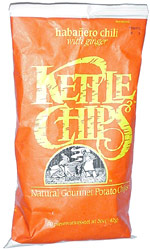 Kettle Chips Habañero Chili with Ginger