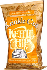 Kettle Chips Krinkle Cut Jalapeno Cheddar