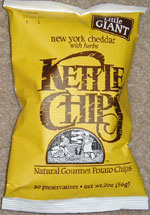 Kettle Chips New York Cheddar with Herbs