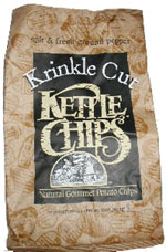 Kettle Chips Krinkle Cut Salt & Fresh Ground Pepper