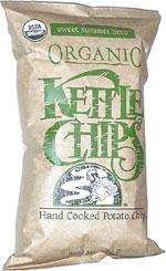 Kettle Chips Organic Sweet Summer Herb Hand Cooked Potato Chips