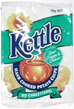 Kettle Sour Cream & Chives Hand Cooked Potato Chips