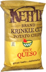 Kettle Chips Krinkle Cut Spicy Queso