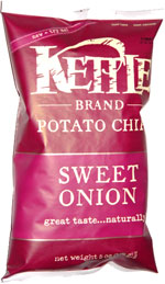 Kettle Chips Sweet Onion