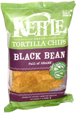 Kettle Tortilla Chips Black Bean