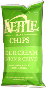 Kettle Chips Sour Cream Onion & Chive