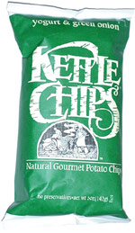 Kettle Chips Yogurt & Green Onion