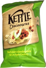 Kettle Discoveries Yorkshire Wensleydale & Cox Apple Chutney