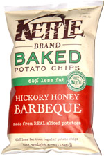 Kettle Baked Potato Chips Hickory Honey Barbeque