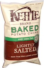 Kettle Baked Potato Chips Lightly Salted