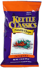 Kettle Classics Jalapeno Potato Chips