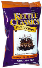 Kettle Classics Mesquite Barbecue Potato Chips