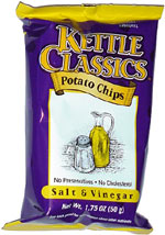 Kettle Classics Salt & Vinegar Potato Chips