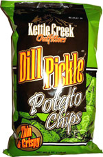 Kettle Creek Outfitters Dill Pickle Potato Chips