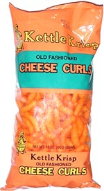 Kettle Krisp Old Fashioned Cheese Curls