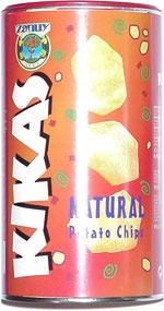 Kikas Natural Potato Chips