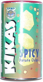 Kikas Spicy Potato Chips