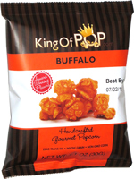 King of Pop Buffalo Handcrafted Gourmet Popcorn