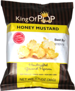 King of Pop Honey Mustard Handcrafted Gourmet Popcorn
