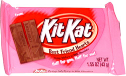 Kit Kat Best Friend Hearts