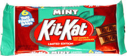 Kit Kat Mint Limited Edition