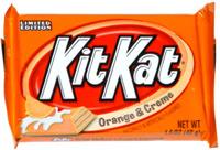 Kit Kat Orange & Creme