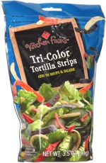 Kitchen Fixin's Tri-Color Tortilla Strips