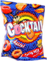 Kitco Cocktail Rings Potato Snack Party Mix Flavor