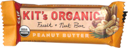 Clif Kit's Organic Fruit + Nut Bar Peanut Butter