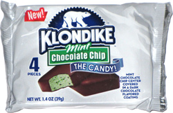Klondike the Candy! Mint Chocolate Chip