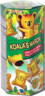 Koala's March Chocolate Creme Filled Cookies