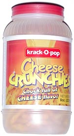 Krack-O-Pop Cheese Crunchies