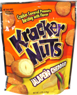 Kracker Nuts Jalapeño Cheddar