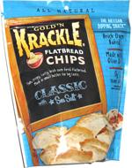 Gold'n Krackle Flatbread Chips Classic Sea Salt