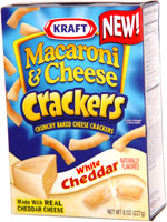 Kraft Macaroni & Cheese Crackers White Cheddar