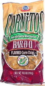 Cornitos Bar-B-Q Flavored Corn Chips