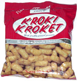 Kroki Kroket with freshly ground peanuts