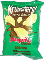 Krunchers! Kettle Cooked Jalapeno Potato Chips