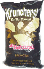 Krunchers! Kettle Cooked All Natural Potato Chips