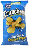 Krunchers! Sea Salt & Cracked Pepper Kettle Cooked Potato Chips