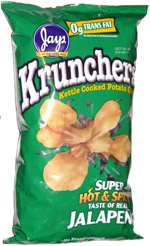 Krunchers Super Hot & Spicy Jalapeno
