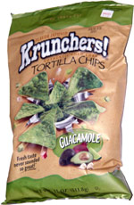 Krunchers! Tortilla Chips Guacamole
