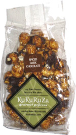 Kukuruza Gourmet Popcorn Spiced Dark Chocolate